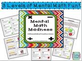 Mental Math Madness: Number Sense Fluency
