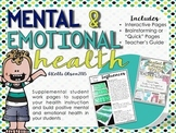 Mental and Emotional Health Activity Pages