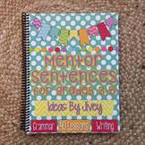 Mentor Sentences for Grades 3-5 HARD COPY Book