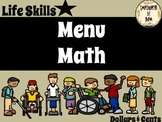 Menu Math Binder