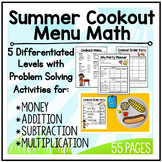 Menu Math: End of Summer BBQ