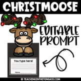 Merry Christmoose Clipart Freebie
