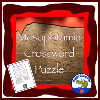 Mesopotamia Crossword Puzzle