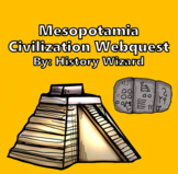 Mesopotamia Webquest and Journal Activity (Two Lesson Plans)