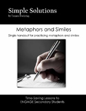 Metaphors and Similes
