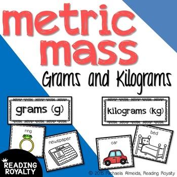 Metric Mass - Sorting Grams and Kilograms
