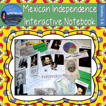 Mexican Independence Interactive Notebook