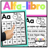 Mi Alfa-Libro {Fluency Reader in Spanish}