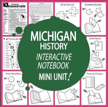 Michigan Mini Unit-Interactive Notebook Activities-Audio I