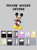 Mickey Binder Covers