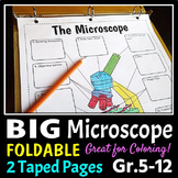 Microscope Foldable - Big Foldable for Interactive Noteboo