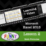 Microsoft Excel 2013 Video Tutorial - Lesson 2