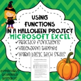 Microsoft Excel Activity: Basic Functions Using Halloween Candy