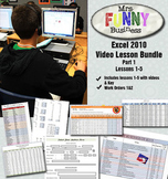Microsoft Excel Video Tutorial Bundle Part 1 - Lessons 1-5