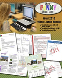 Microsoft Word Video Tutorial Bundle - Lessons 6-8