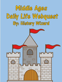 Middle Ages Daily Life Webquest and Answer Sheet (Great Le