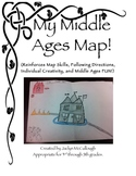Middle Ages Map (Student Created Map)
