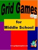 Middle School Grid Games Book