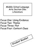 Middle school language arts common core packet