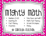 Mighty Math Books for Kindergarten and First Grade