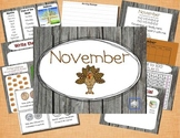 Mimio November Calendar Morning Meeting