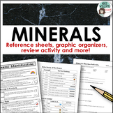 Minerals - Reference Sheets, Graphic Organizers & More!