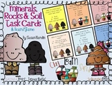 Minerals, Rocks, & Soil Task Cards and Board Game