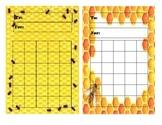 Mini Charts, Desk Nameplates - BEE Theme