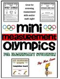 Mini Measurement Olympics (For Elementary Students!)