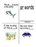 "Mini reader reproducible book words with ""ar"""