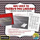 Mini-unité Théâtre des lecteurs