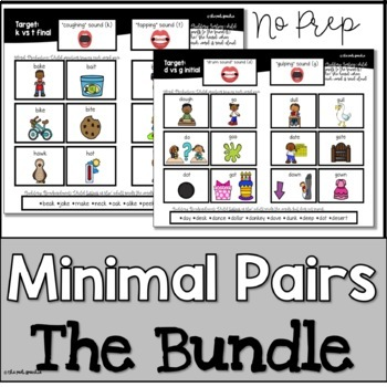 Minimal Pairs & More: Bundle