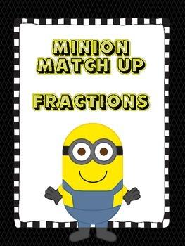Fraction Match-Up (Minion Style)