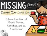 Missing Addends 1.OA.4, 1.OA.8