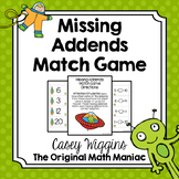 Missing Addends Match Game