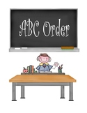 Missing Letter ABC Order