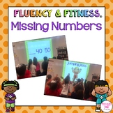 Missing Numbers Fluency & Fitness Bundle