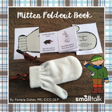 Mitten Story Fold-Out Book for Preschoolers