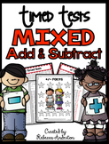 Mixed Addition and Subtraction Timed Tests Print N' Go
