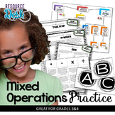 Mixed Operation Word Problem Bundle