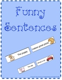 Mixed Up Funny Sentences