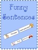 Mixed Up Funny Sentences