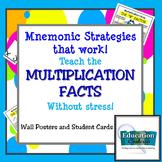Mnemonic Strategies That Work:  Teach Multiplication Facts