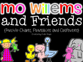 Mo Willems and Friends {Printables, Chart Parts and Craftivities}