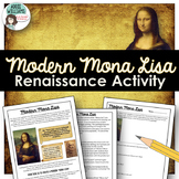 Renaissance Art / Social Studies Activity - Create a Moder