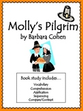 Molly's Pilgrim Book Study: Vocabulary, Comprehension, Seq