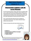 Momentum Inquiry Lab - On Level Physics