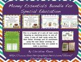 Money Essentials Bundle for Special Education [Task Cards,
