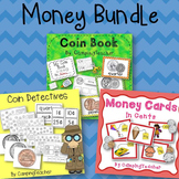 Money Product Bundle Coin Book, Money Cards, and Coin Detectives