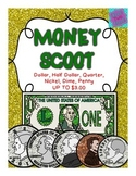 Money Scoot: coins and dollars up to $3.00